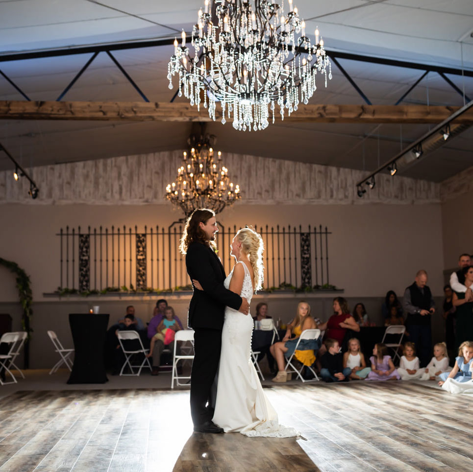 bride groom first dance carriage hall