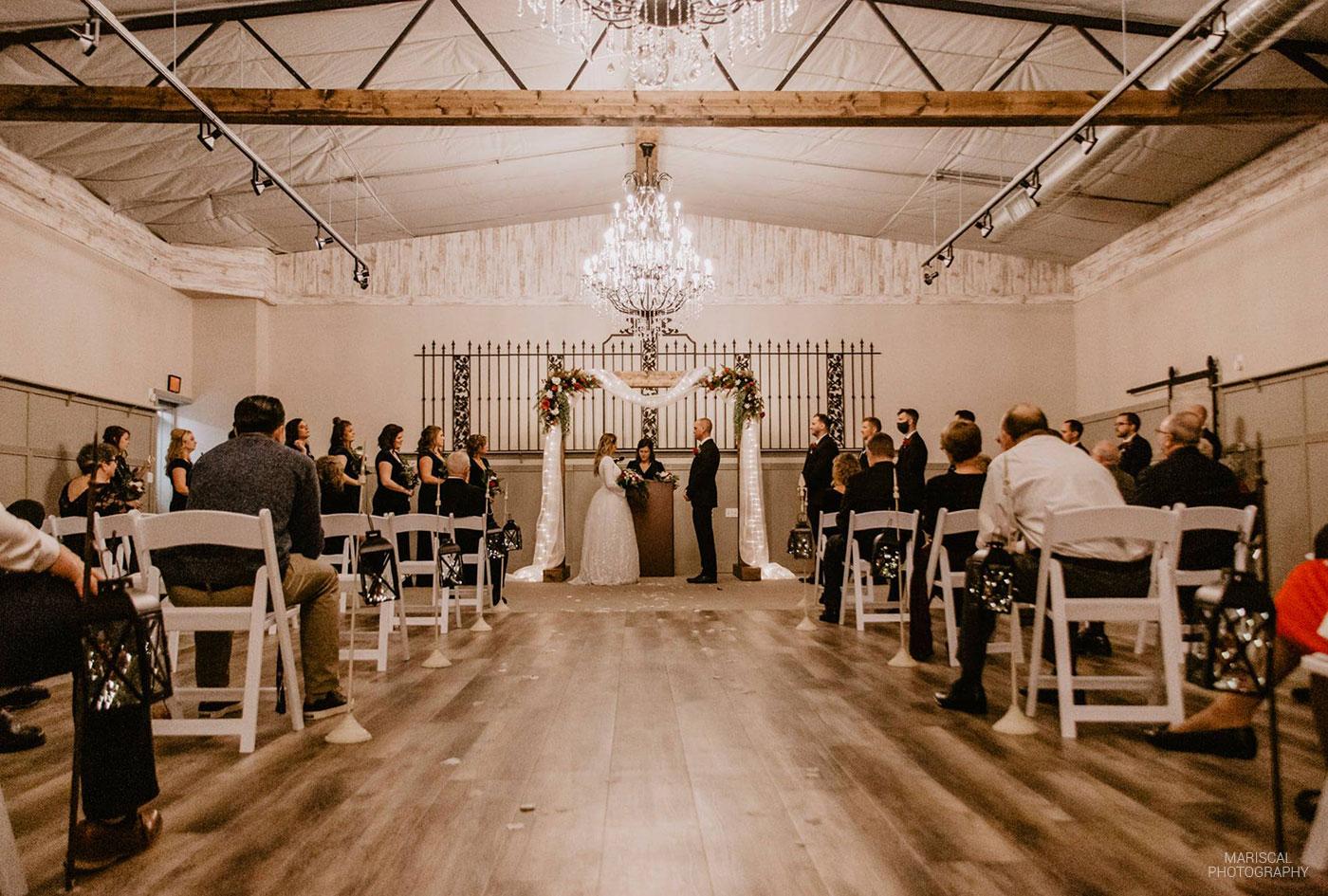 wedding aisle Carriage Hall